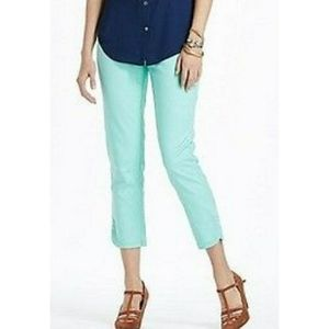 Anthropologie Cartonnier Charlie Mint Ankle Chino